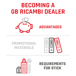 BECOMING A GB RICAMBI DEALER