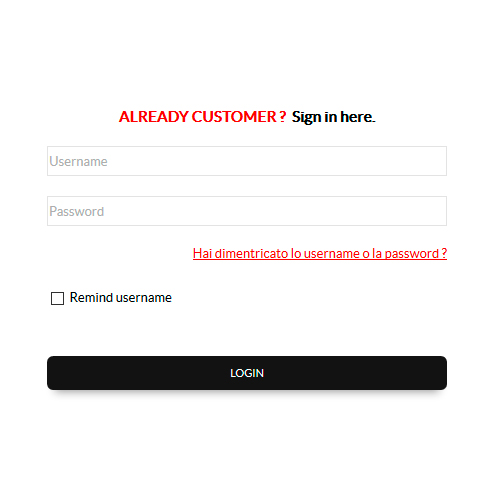 login ecommerce gb ricambi